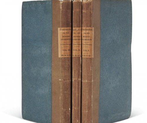'Frankenstein' first edition sells for a record $1.17 million at auction