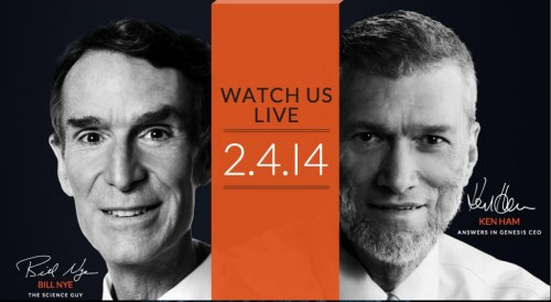 Bill Nye debates evolution with Creation Museum founder Ken Ham Tuesday night