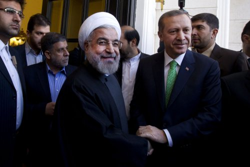 Iranian president makes historic visit to Turkey