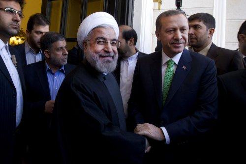 Iranian president makes historic visit to Turkey