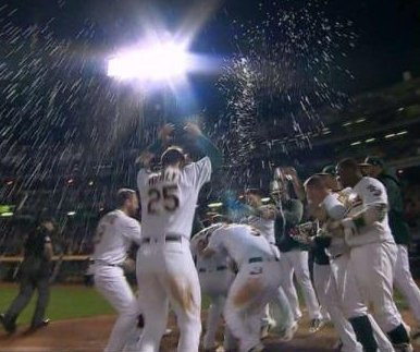 Mark Canha home run gives Oakland A's walk-off win over Boston Red Sox