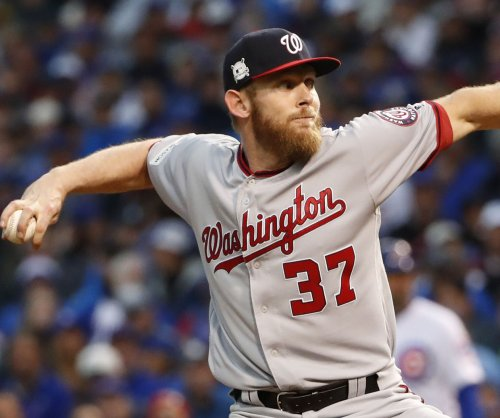 Strasburg, Nationals aim to blank Reds again