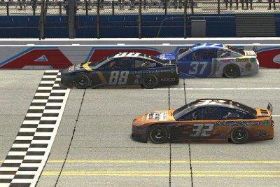 NASCAR iRacing: Alex Bowman earns first virtual win at Talladega