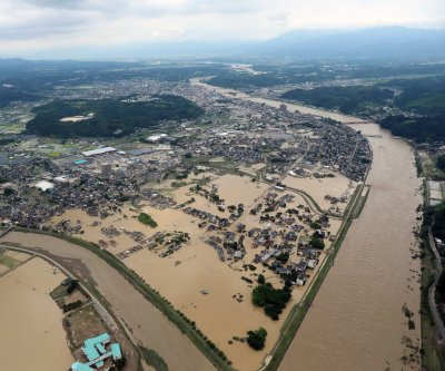 Over 200,000 evacuated as flooding, mudslides strike southwestern Japan