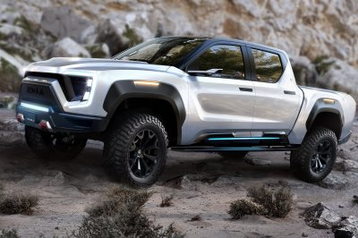 Nikola, GM join to build electric 'Badger' pickup by 2022