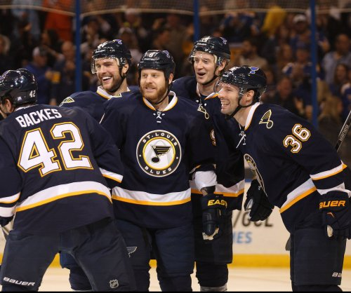 Backes scores twice as Blues edge Wild