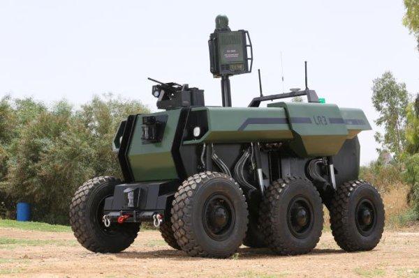 Watch Iai Debuts Robattle Unmanned Combat Vehicle Upi Com