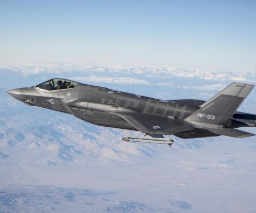 Sidewinder three for three in F-35 test firings