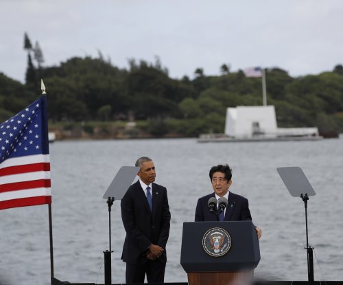 Japanese PM Abe makes historic visit to Pearl Harbor: 'I am speechless'
