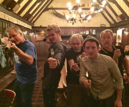 'Lord of the Rings' stars Elijah Wood, Orlando Bloom reunite
