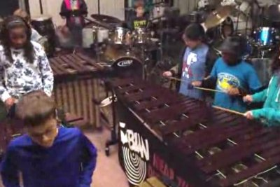 Young percussionists cover Led Zeppelin in Kentucky
