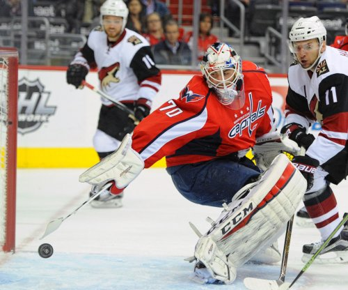 Washington Capitals defeat Arizona Coyotes for fourth straight win