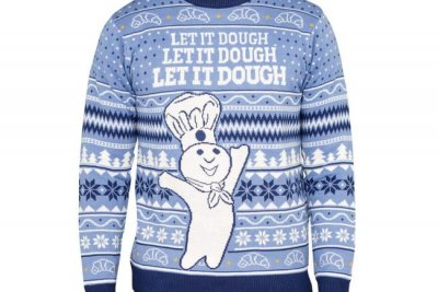 Pillsbury unveils Doughboy-themed Christmas sweaters