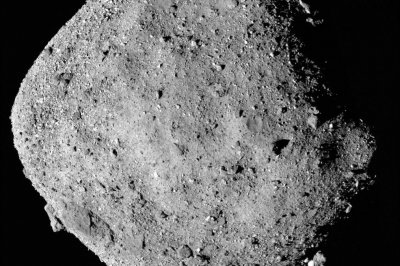 There's water on Bennu, OSIRIS-REx confirms