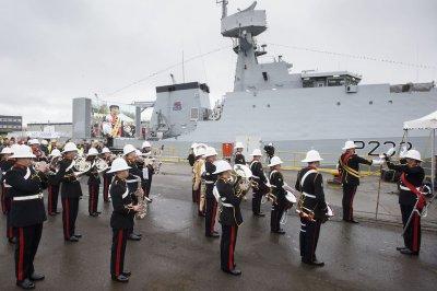 U.K. defense minister names new British Royal Navy warship