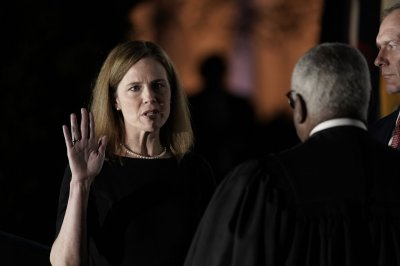 Amy Coney Barrett sworn in to the U.S. Supreme Court