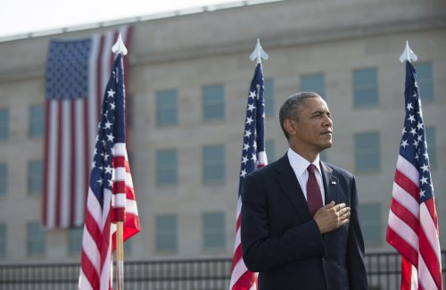 Obama speaks at Pentagon's 9/11 memorial: 'America endures'