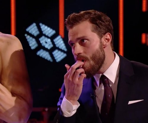 Jamie Dornan eats his own abs on 'The Graham Norton Show'
