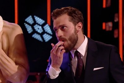 Jamie Dornan eats his own abs on 'The Graham Norton Show'