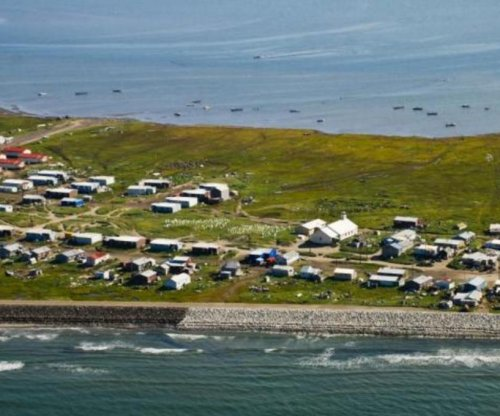 Alaskan town votes to relocate as climate change submerges island