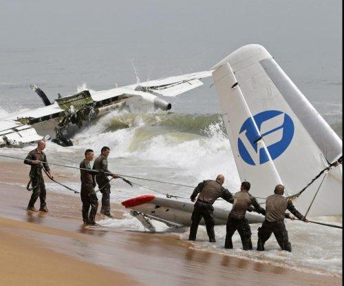 Cargo plane crashes off Ivory Coast, killing 4