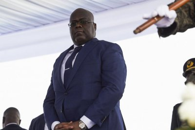 Felix Tshisekedi sworn in as new president of Congo