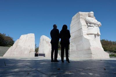 Biden, Harris mark 10-year anniversary of King, Jr. memorial in D.C.