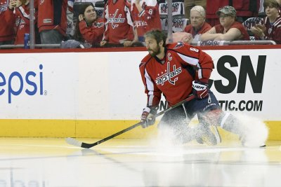 Alex Ovechkin gets hat trick as Washington Capitals open with thrilling win vs. Ottawa Senators