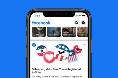 Facebook starts Fourth of July weekend voter registration drive