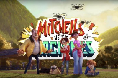 'The Mitchells vs. The Machines' animated film coming to Netflix in April