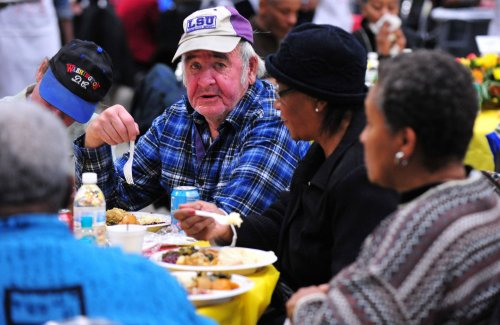 Southerners may eat more on Thanksgiving