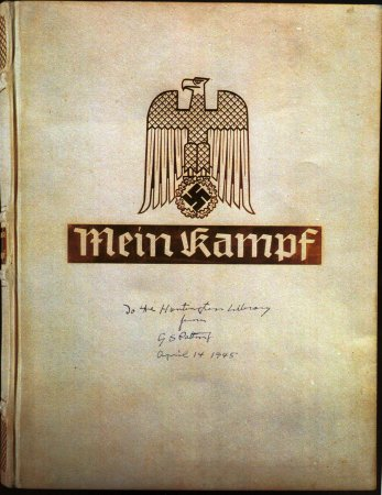 Two signed copies of Hitler's 'Mein Kampf' going to auction