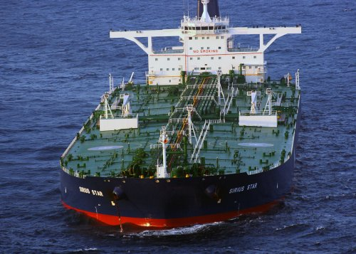 Kinder Morgan readies new oil tanker