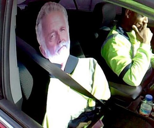 Trooper: 'Most Interesting' HOV cheat used cardboard cutout
