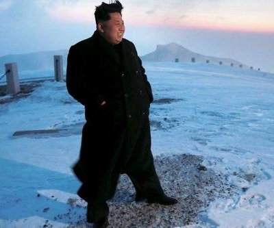 Kim Jong-Un allegedly climbs North Korea's tallest mountain