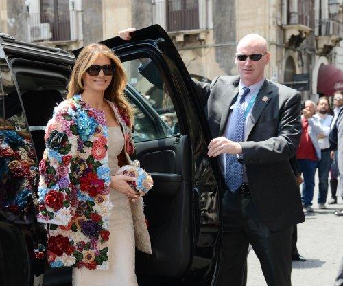 Melania Trump wears $51K Dolce & Gabbana coat in Sicily