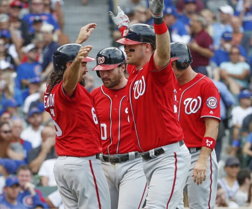 Matt Wieters' grand slam helps Washington Nationals beat Chicago Cubs