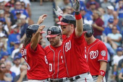 Matt Wieters' grand slam helps Washington Nationals beat Chicago Cubs