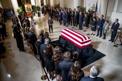 Watch live: John Paul Stevens lies in repose at Supreme Court