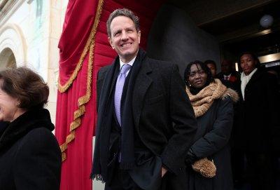 Former treasury secretary lands a job
