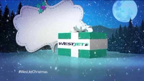 WestJet surprises passengers with what they want for Christmas