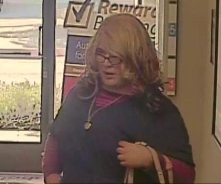 California police seek 'Mrs. Doubtfire' for bank robbery