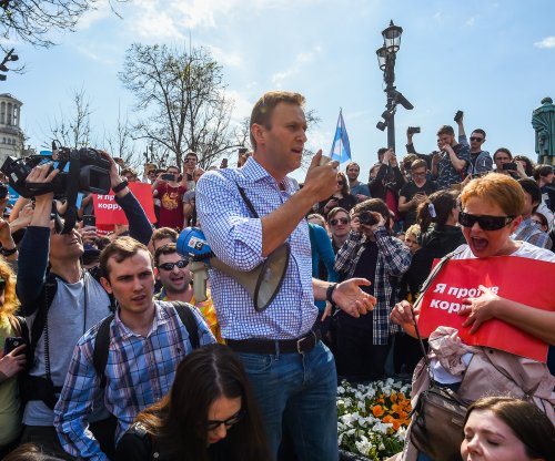 Alexei Navalny released from prison after leading anti-Putin rally