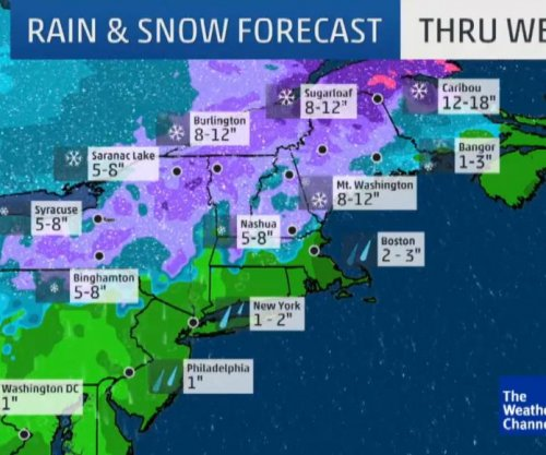 Nor'easter bringing strong winds, snow, sleet, freezing rain