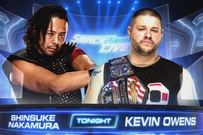 WWE Smackdown: Shinsuke Nakamura and Kevin Owens battle, Lana debuts