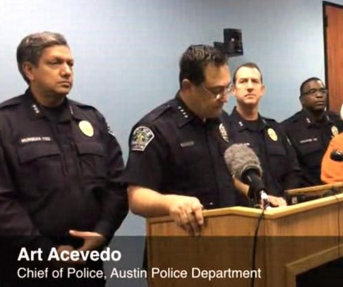 Austin man who fired at buildings gunned down outside police HQ
