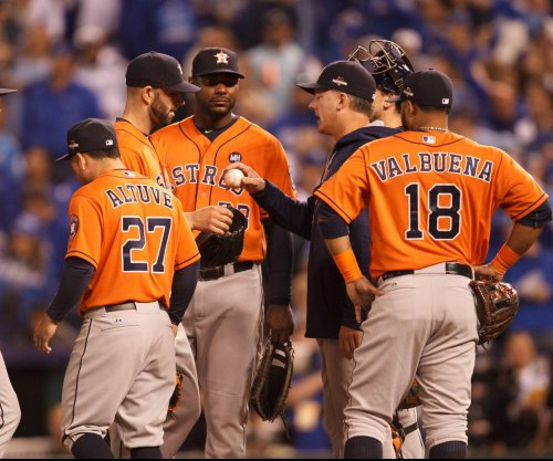 Mike Fiers pitches Houston Astros past Cleveland Indians