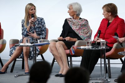Ivanka Trump takes on criticism of father's view of women in Berlin