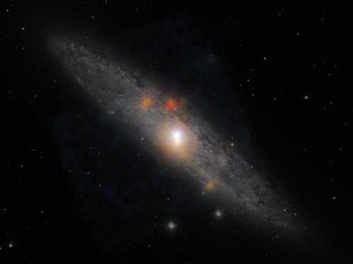 Astronomers say formerly active black hole is dormant in cosmic 'nap'