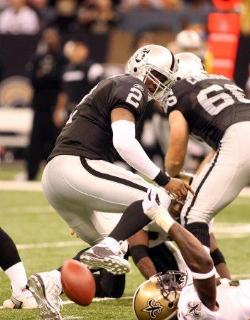 NFL: New Orleans 34, Oakland 3